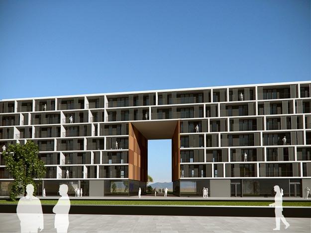 124 vpo vitoria gasteiz arquitectos asociados - Arquitectos en vitoria ...
