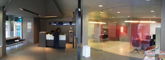 Oficinas bancarias la caixa arquitectos asociados for La caixa oficinas zaragoza