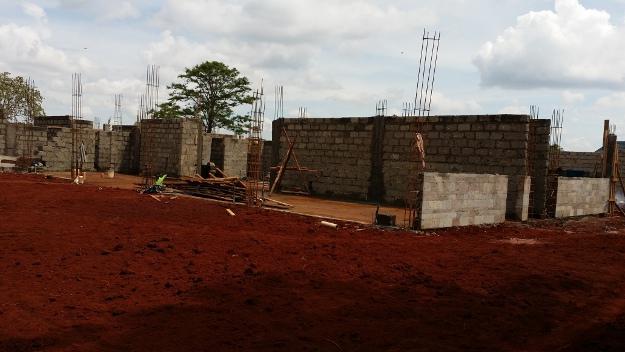 Construcción de una vivienda en Kenia